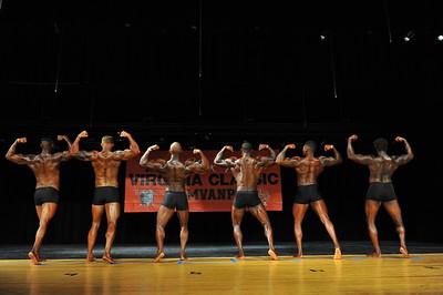 Men's Classic Physique Comparisons & Awards