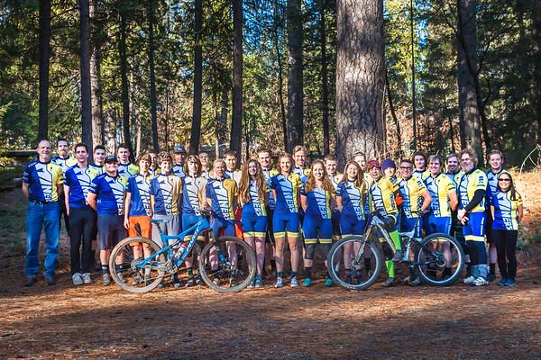 NU Mountain Bike Team 2017