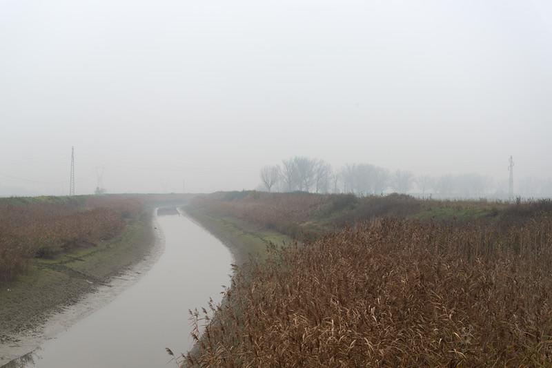 Collettore delle Acque Alte - Crevalcore, Bologna, Italy - Novembre 25, 2014