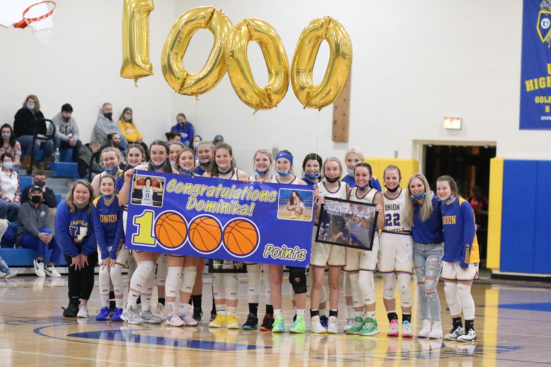 1000 Career Points Union's Dominika Logue