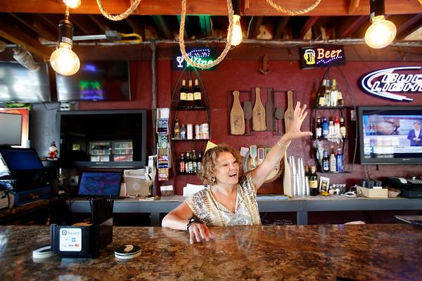 Bartender Peggy Ciepiela at Rusty Anchor-061319