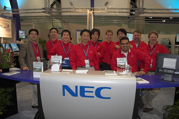 NEC at VMworld 2006 - 11/5 - 11/10, 2006