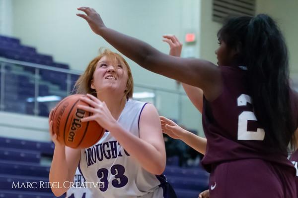 Broughton JV girls basketball vs Green Hope. December 4, 2018, MRC_5616