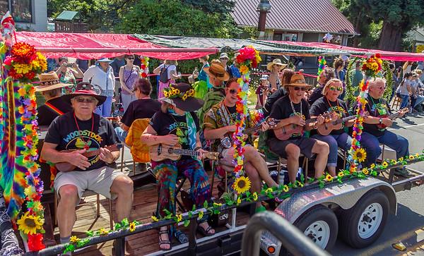 Set two the Grand Parade, Vashon Island Strawberry Festival 2019