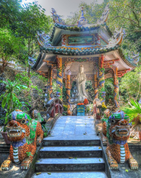 Temple at Marble Mountain
