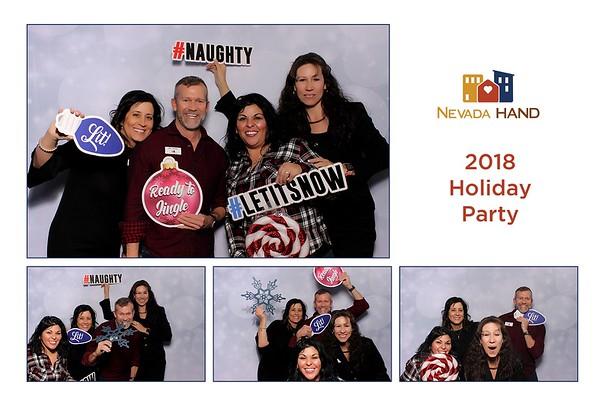 Nevada Hand 2018 Holiday Party
