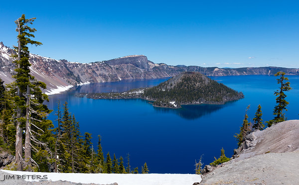 Crater Lake, Volcanos, Glass Blowing, Shakespeare, Dean & Marilyn - Click to Open