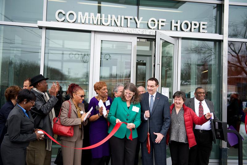 Community of Hope's Ribbon Cutting Ceremony