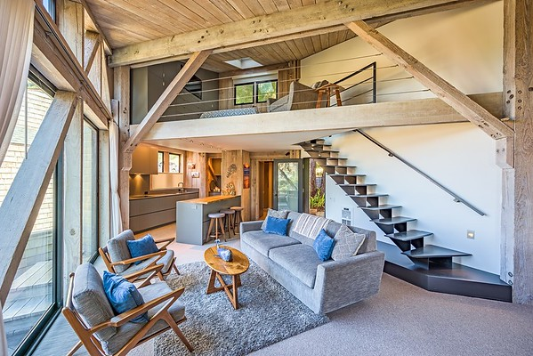 Classic Turnbull Post and Beam Cluster Home, Sea Ranch, CA