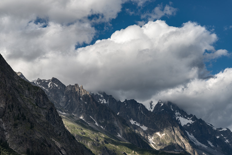 Mont Blanc - Val Veny, Courmayeur, Italy - August 10, 2016