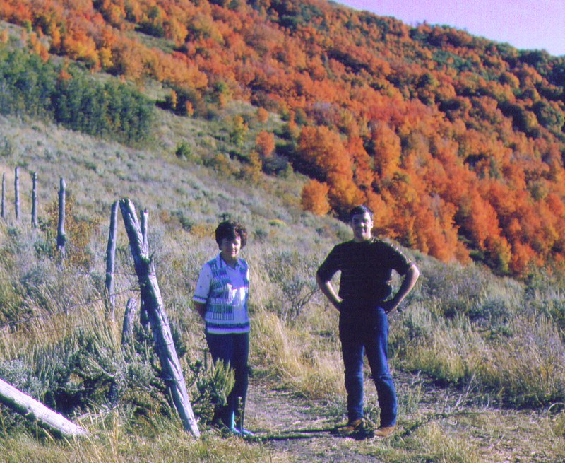 Bonnie & Mike, Old Snow Basin road  02.jpg