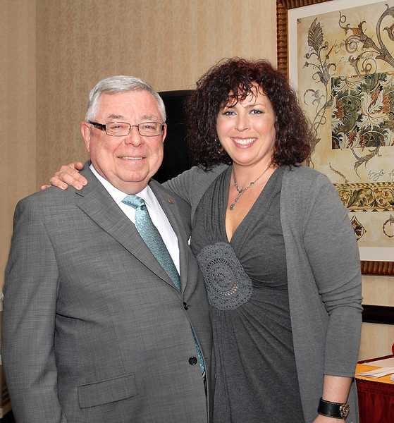 Terry Whitty, Executive Director, National Office and Maxime Corneau, Communications Officer.