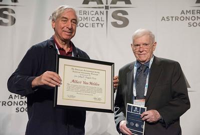 HAD Doggett Prize: Albert van Helden