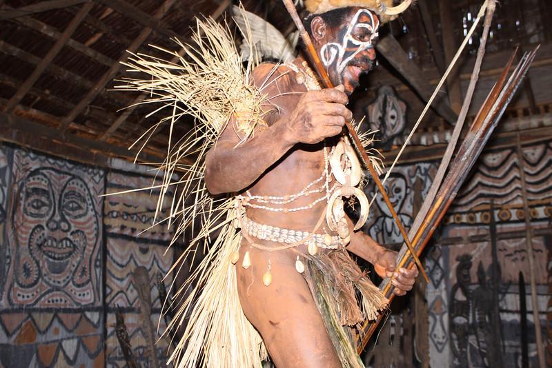 Tanganimbit village Konbrop tribe Haus Tamborin