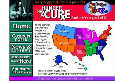 Hunger Has A Cure U.S. Tour  (1998)