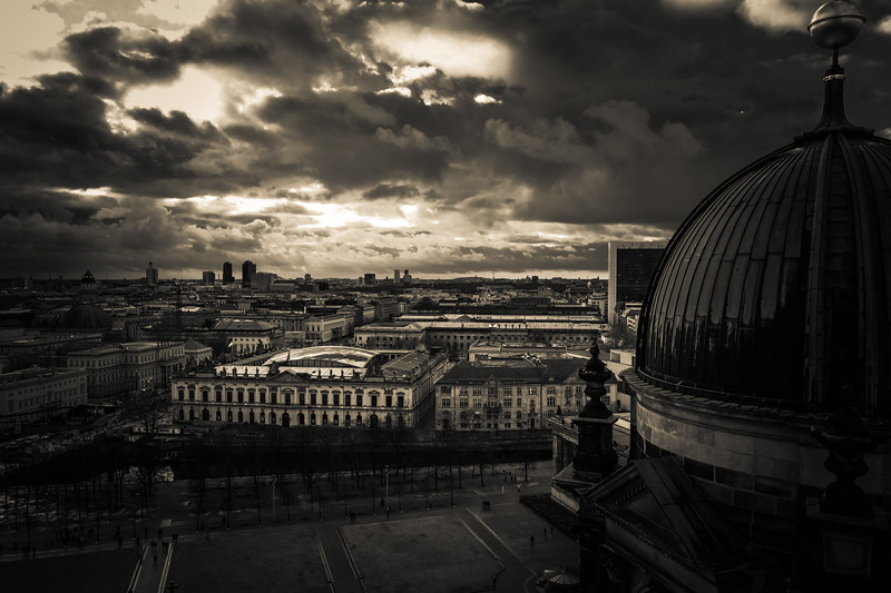 City view from Berlin Dom