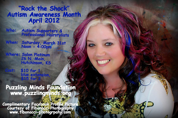 Rock the Shock for Autism Awareness Month