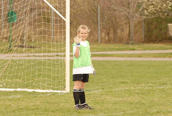 Kingsway Girls Soccer vs Haddonfield - Age 8&9