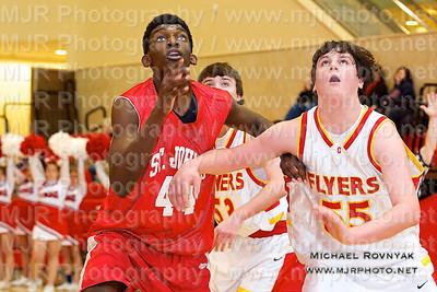 Chaminade Vs St John's, Boys JV Basketball 02.05.11