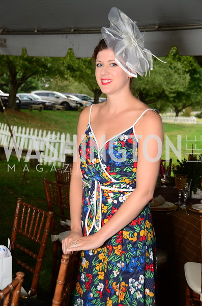 Dr. Lauren McKelory,  NVTRP Ride to Thrive Polo Classic, Great Meadow, Sep 28, 2019, photo by Nancy Milburn Kleck