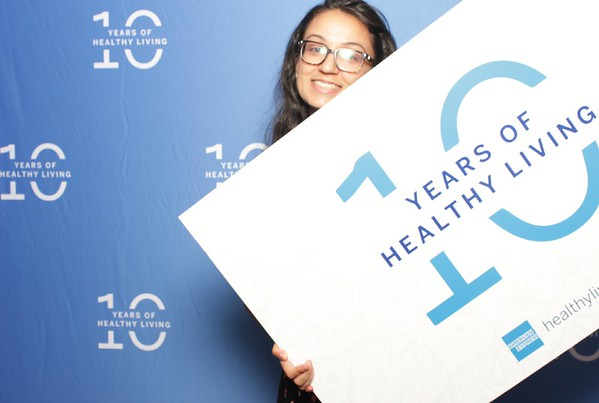 08.06.19 | AMEX 10 Years of Healthy Living