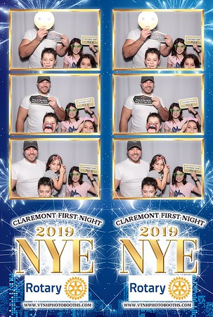 Photo Strips - 12/31/18 - First Night Claremont