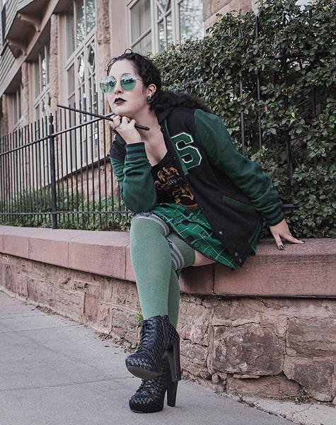 Jessica H - Slytherin Vogue