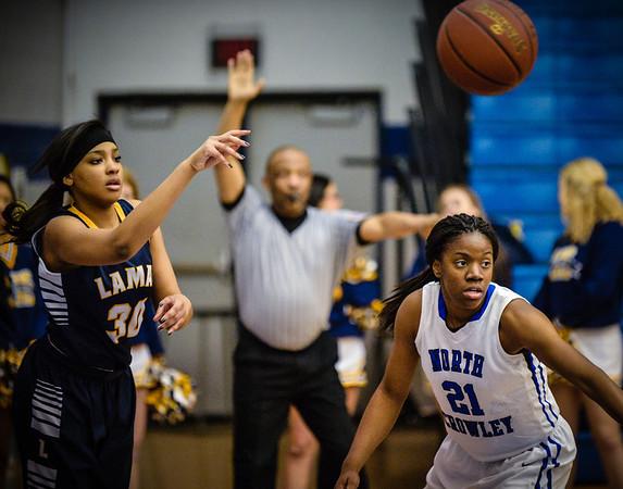Basketball Girls Varsity vs  Lamar 01-21-14-5