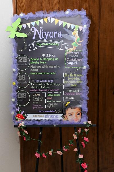Niyara First Birthday -Download Set