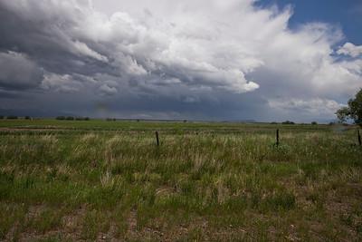 Passing Storm, Clyde Park, Montana