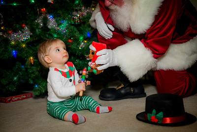 Cooper meets Santa 2018
