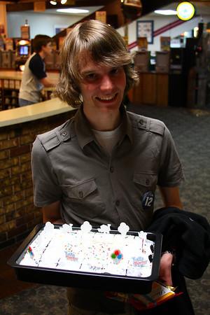 Michaels Birthday, Bowling 5-6-08