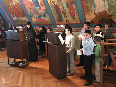 HOPE/JOY Visit to Holy Transfiguration Monastery - April 2, 2017