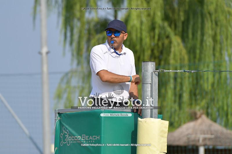 presso Zocco Beach PERUGIA , 25 agosto 2018 - Foto di Michele Benda per VolleyFoto [Riferimento file: 2018-08-25/ND5_8353]