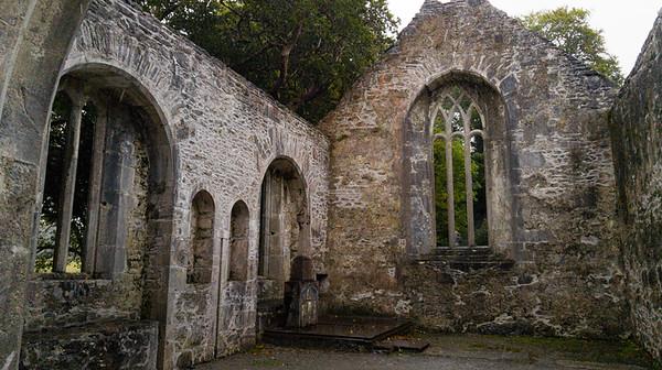 Exploring Muckross Abbey
