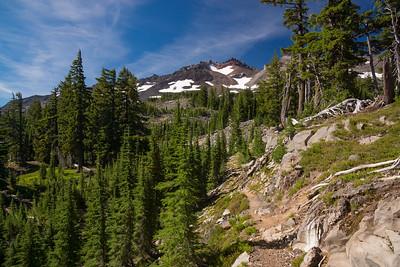 Diamond Peak Loop - August, 2016