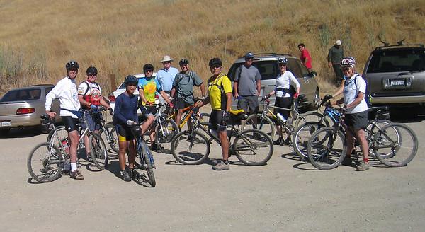 bike and Hike with Loel, Julie, Kris , and Bob