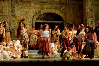 Carmen- First Dress. Dallas Opera