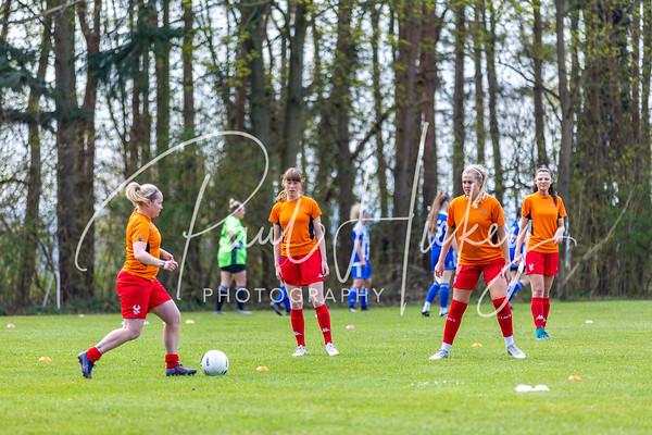 Kidderminster Harriers Ladies vs Worcester City Women 18/04/21