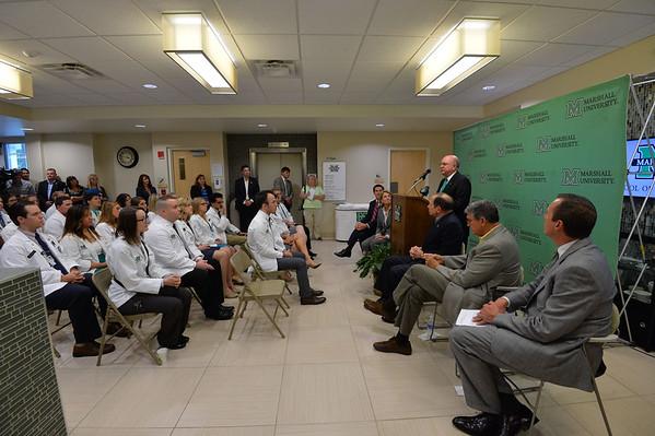 VA Chief Robert McDonald's vist to the MU School of Pharmacy-Sept. 2015
