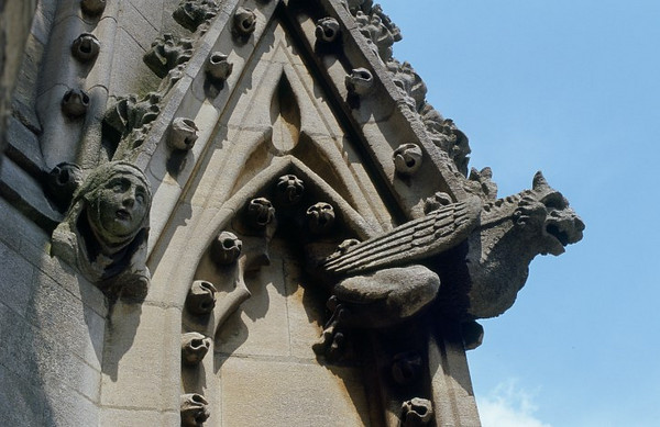 gargoyle and grotesque
