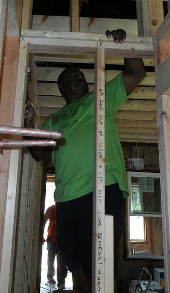 Homeowner partner John Pippins
