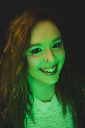 Lindsey Neon Portraits