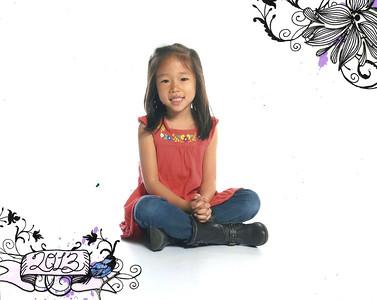 April 11, 2013 - Emily Kindergarten Photo #2