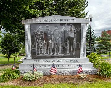 Lewiston Maine, veterans park
