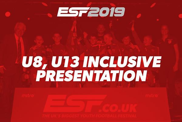 U8, U13 INCLUSIVE PRESENTATION