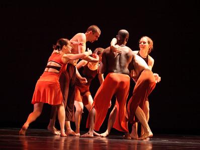20091206 Gaspard & Dancers, Duke University