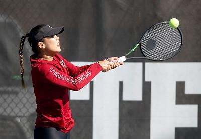 Temple Womens Tennis vs Villanova