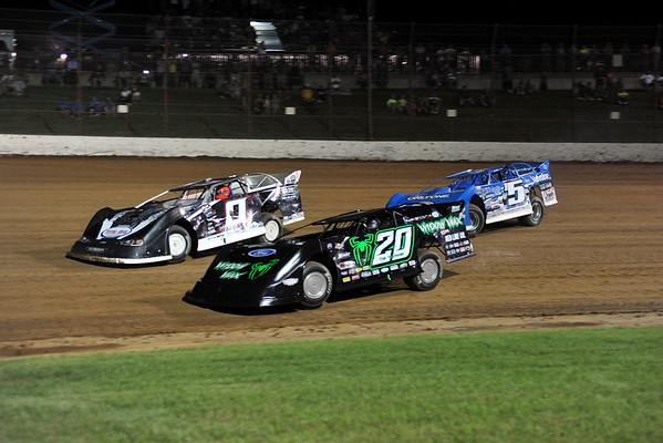 2015 07-12 Lucas Oil Dirt Late Models Show Me Finale LOS