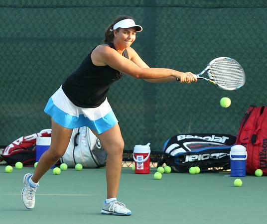 Anna's Clemson Tennis Camp 2014